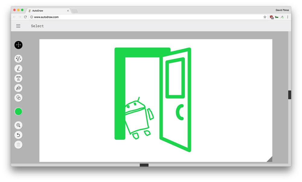Dibuja en el móvil y la inteligencia artificial de Google te ayudará