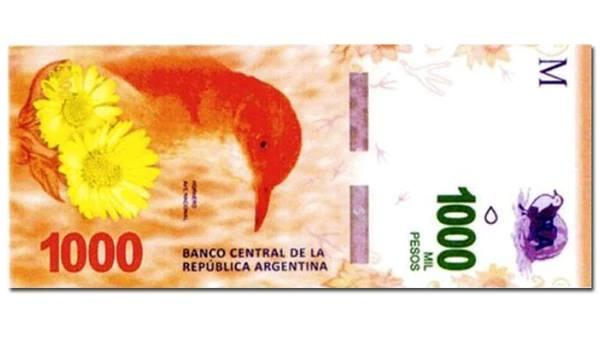 Cómo identificar un billete de 1000 Falso