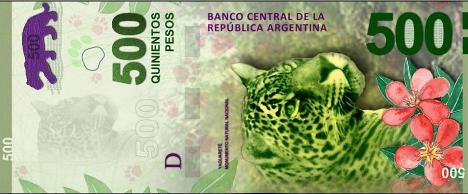 Características del billete de 500 pesos Argentinos