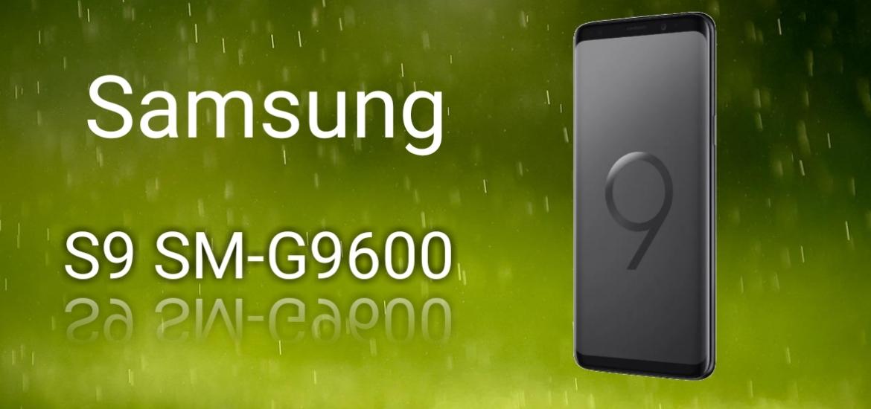 Características Samsung S9 SM-G9600