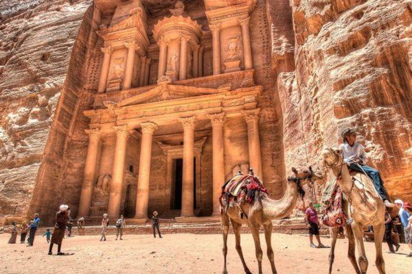 La Ciudad Petra Maravilla del Mundo Antiguo.
